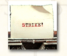 STRIKE! - art for Los Angeles Times